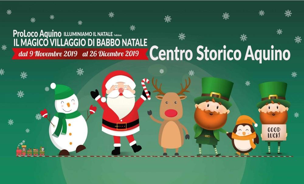 Immagini Del Villaggio Di Babbo Natale.Il Magico Villaggio Di Babbo Natale 2018 La Magia Del